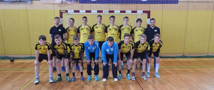 Starejši dečki A v Sevnici v boju za naslov državnega prvaka