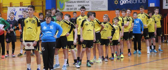 Starejši dečki A RK SVIŠ Ivančna Gorica postali podprvaki Slovenije