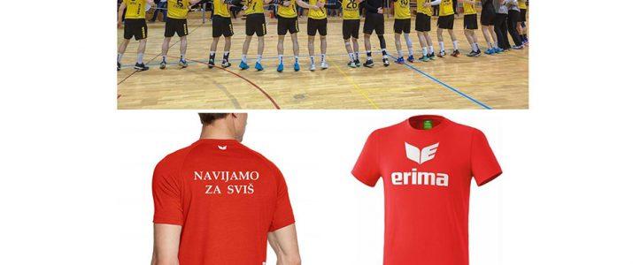 Na FINAL4 pokala Slovenije z enotnimi majicami