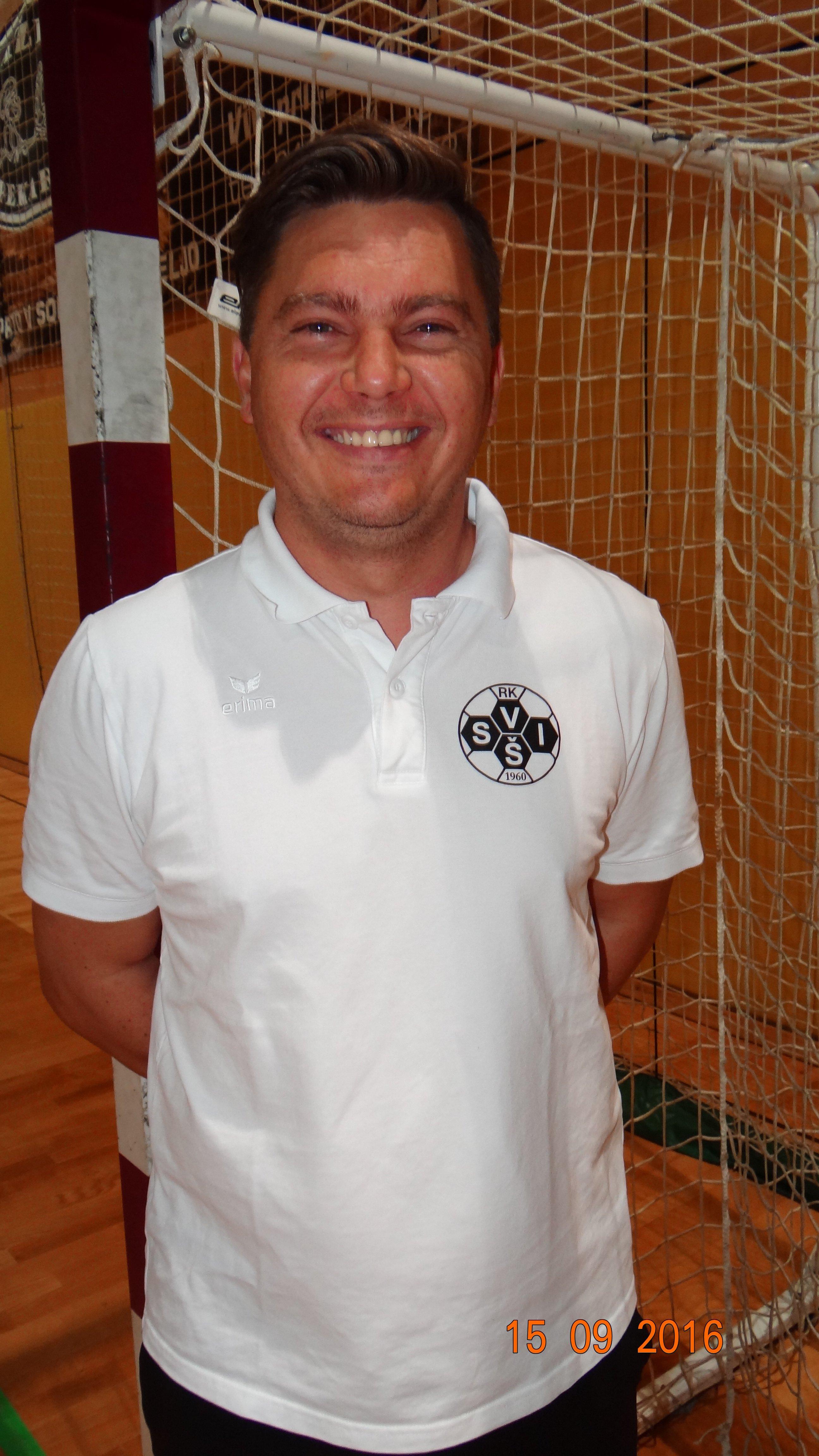 Saša Pekeč, vodja članskega moštva